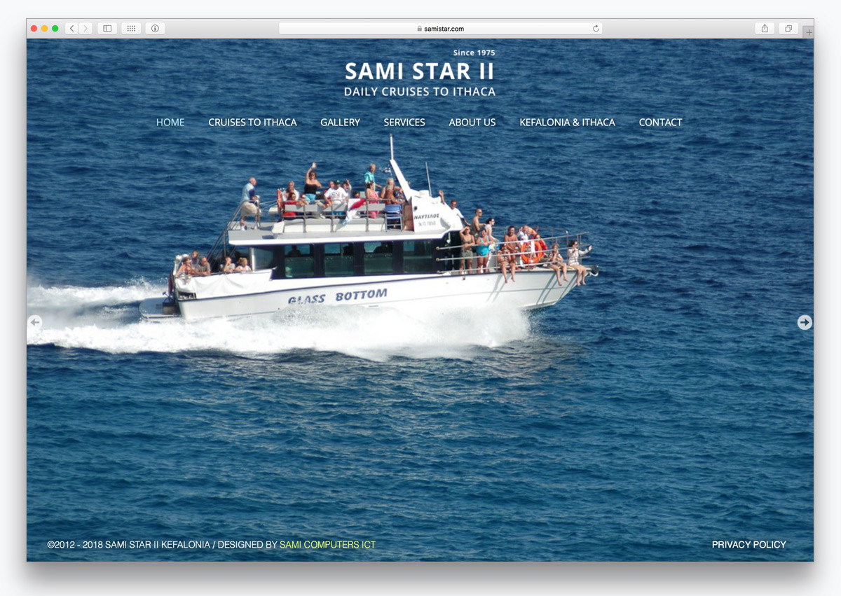 2samistar kefalonia websites